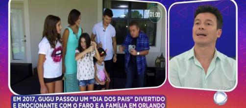 Rodrigo Faro pergunta por Ibope em homenagem para Gugu Liberato. (Arquivo Blasting News)