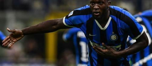 Romelu Lukaku, centravanti dell'Inter.