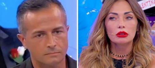 U&D, Riccardo piange in studio, Ida lo attacca: 'Soli a casa non avevi voglia di baciarmi'