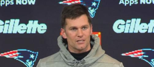 Vick gave Brady a strong B-plus grade. [Image Source: New England Patriots/YouTube]