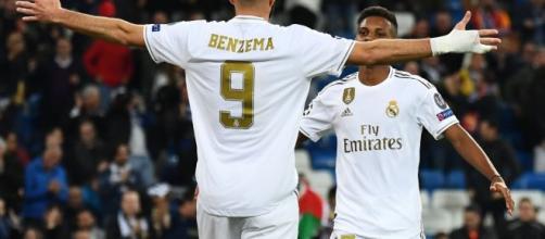 Benzema anotó por primera vez frente al PSG
