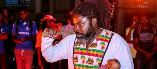 Christian Etongo promoteur du Festival Perform'Action Live Art 3 (c) Goethe-Institut Kamerun