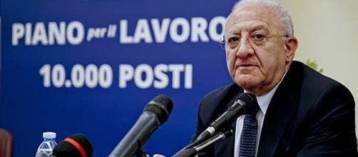 Concorso Regione Campania: secondo Vincenzo De Luca: 'ritardi vergognosi'