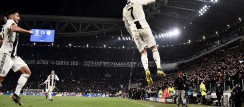 Cristiano Ronaldo di nuovo contro l'Atletico Madrid