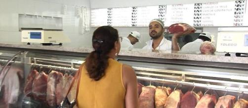 Exportações aumentam e preço da carne de boi dispara. Reprodução/Globo