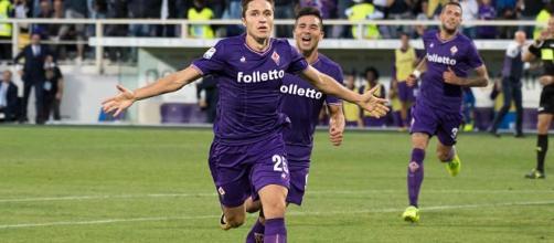 Federico Chiesa in rottura con la Fiorentina.