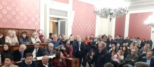 Incontro alla sede dell'Assemblea Regionale Siciliana