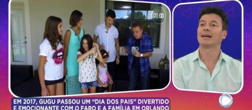 Rodrigo Faro questionou sobre audiência durante programa em homenagem a Gugu. (Arquivo Blasting News)