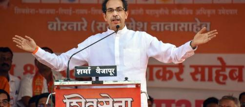 Uddhav Thackeray betrays Hindutva for power. (Image credit- NDTV/youtube)