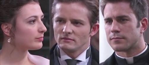 Una Vita, anticipazioni al 6 dicembre: Lucia scopre che Samuel gli ha mentito.