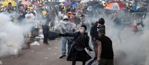 Cina, Hong Kong, manifestanti.