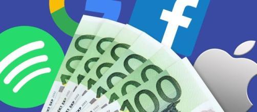 Digital Tax, nel 2018 i giganti del web hanno pagato solo 64 milioni di euro