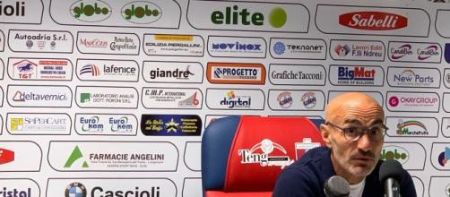 Paolo Montero, ex giocatore della Juventus e attuale tecnico della Sambenedettese.