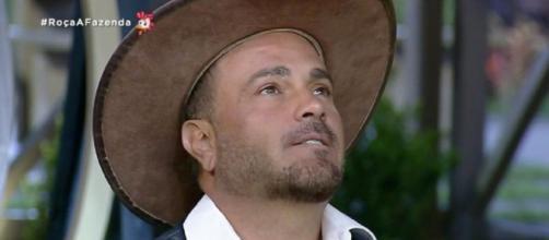 Rodrigo relembrou sumiço de Lucas em 'A Fazenda 11'. (Reprodução/Record TV)