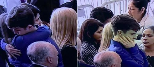 Apresentador é velado na Assembleia Legislativa, em São Paulo. (Reprodução/Record TV)