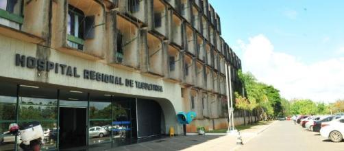 Bebê é sequestrado de maternidade do Hospital Regional de Taguatinga, no Distrito Federal. (Tony Winston/Agência Brasília)