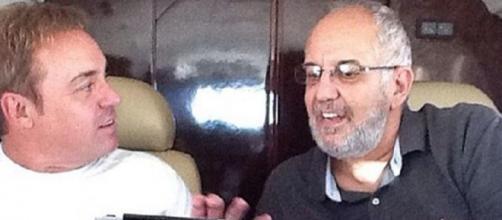 Homero Salles e Gugu eram amigos desde o fim dos anos 70. (Reprodução/ SBT)