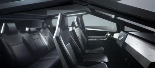 Interior da Tesla Cybertruck [Imagem: Tesla]