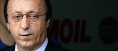 Luciano Moggi ex amministratore delegato della Juventus.