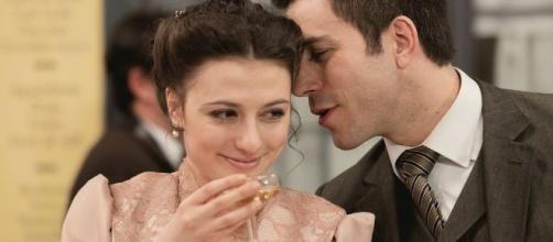 Una Vita, spoiler: Lucia e Telmo annunciano il loro matrimonio