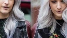 Tagli di capelli e tonalità per l'inverno: le chiome lunghe lisce e il grey hair