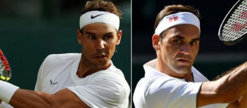 Rafa Nadal e Roger Federer, entrambi oltre l'85 % di match vinti nel 2019