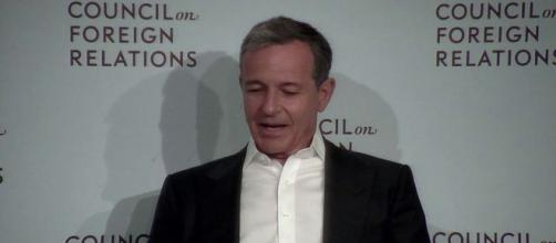 Disney CEO Bob Iger has said the company is not planning any Marvel level buyouts. [Image Credit] Council on Foreign Relations/YouTube