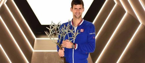 Djokovic gagne le Rolex Paris Masters pour la 5e fois.