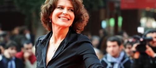 L'attrice Fanny Ardant sarà ospite di Fabio Fazio