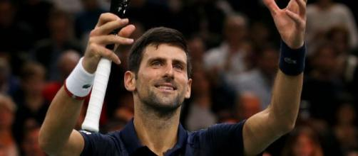 Novak Djokovic through to Paris Masters final.