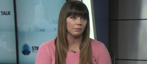Brenda Tracy says her life was recently threatened [Image via KGW News/YouTube]