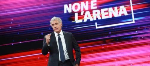 Massimo Giletti, conduttore di Non è l'Arena.