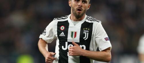 Miralem Pjanic centrocampista della Juventus.