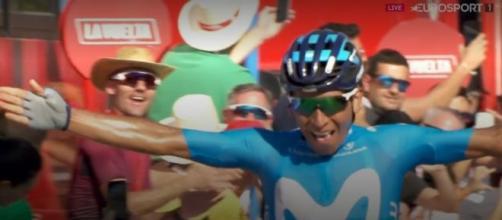 Nairo Quintana, alla Vuelta Espana l'ultimo successo in maglia Movistar