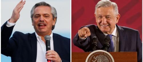 Alberto Fernández llegó a México en su primera gira como presidente electo. - airesdelaciudad.com