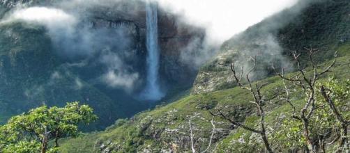 Lista contém as 5 cachoeiras mais altas do mundo. (Reprodução)