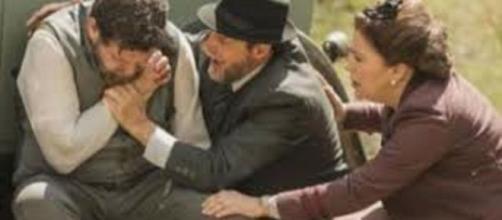 Il segreto, anticipazioni: Carmelo spara a Mauricio per vendicare Adela