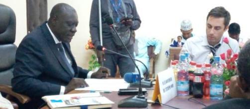 Mounouna Foutsou, Ministre de l Jeunesse et de l'Education Civique (c) Minjec