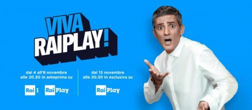 Viva Raiplay: il programma di Fiorello in anteprima su Rai 1 da lunedì 4 novembre e al via in streaming dal 13 novembre - juorno.it