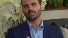 Partido Rede entra com pedido de cassação do mandato de Eduardo Bolsonaro