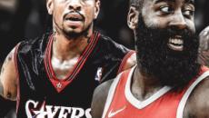 NBA : James Harden dépasse Allen Iverson