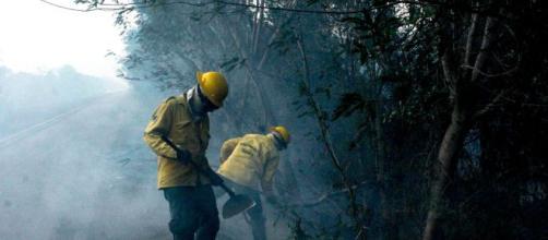 A diminuição de autuações ambientais coincide com aumento de queimadas na Amazônia. (Arquivo Blasting News)