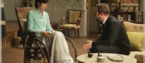 Anticipazioni Il Segreto: Fernando fa credere a Maria di non poter recuperare l'uso delle gambe