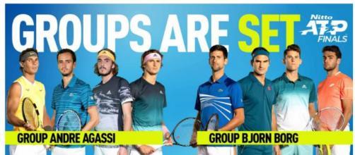 ATP FINALS 2019. sorteggiati i gironi: c'è anche Berrettini