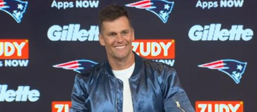 Brady will spend the bye week on self scouting. [Image Source: New England Patriots/YouTube]