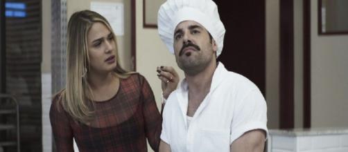 Britney não confia se Abel está realmente apaixonado. (Reprodução/TV Globo)
