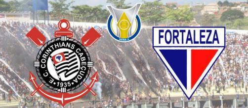 Corinthians x Fortaleza terá transmissão ao vivo e exclusiva na TV Fechada. (Fotomontagem)