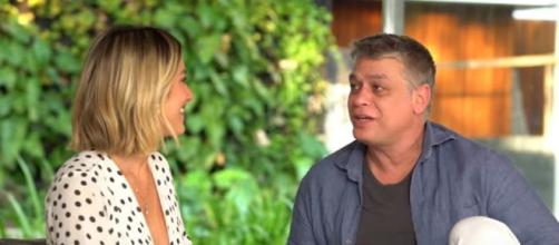 Giovanna Ewbank entrevista Fabio Assunção. (Reprodução/YouTube)