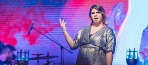 Marília Mendonça em show no Rio de Janeiro Imagem: Divulgação/ @randesfilho