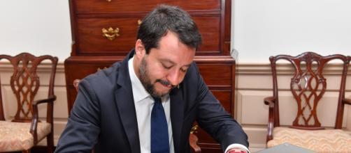 Matteo Salvini, ex Ministro dell'Interno e ora all'opposizione